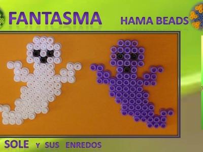 Cómo hacer un Fantasma con Hama Beads