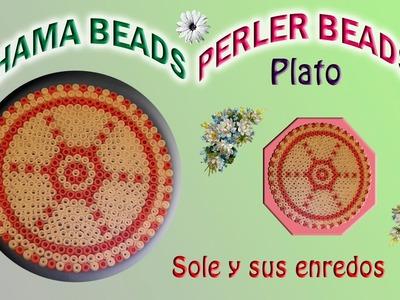 Cómo hacer un Plato con Galletas con Hama Beads
