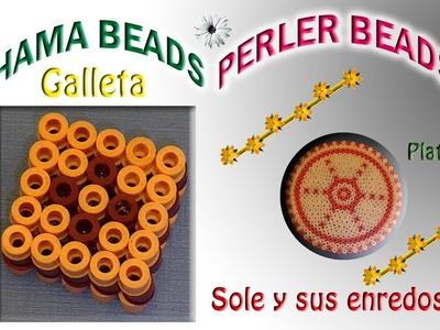 Cómo hacer una Galleta de Chocolate con   Hama Beads