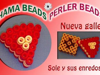 Cómo hacer una nueva Galleta con  Hama Beads