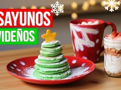 Desayunos Fáciles y Rápidos Para Navidad |RebeO
