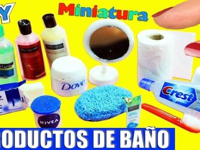 DIY Accesorios. Productos de Baño en Miniatura 100% Reales - 10 Manualidades Fáciles para Muñecas
