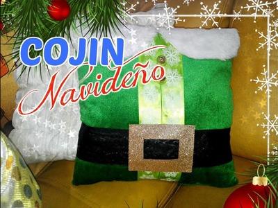 ❄DIY Cojín navideño super fácil paso a paso ❄ Manualidad Cojín Navideño ❄