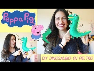 DIY COMO HACER AL DINOSAURIO DE PEPPA PIG