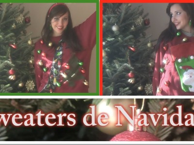 DIY: Sweaters de NAVIDAD!