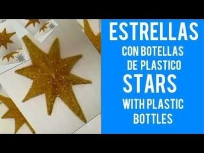 ESTRELLA    CON BOTELLAS DE PLASTICO