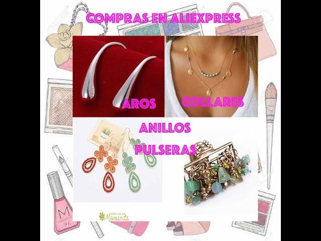 Haul Aliexpress Aros, Anillos, Pulseras y Collares