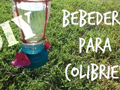 Haz tu alimentador para colibríes HummingBird feeder