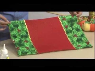 Individuales y Bolsitas de Navidad. 2.4
