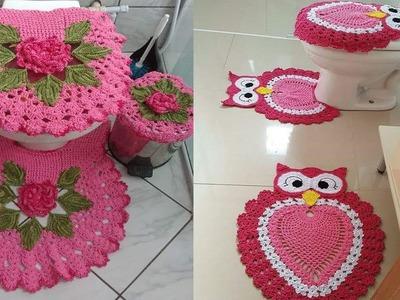 Lindos Juegos para Baños -- Tejidos a Crochet