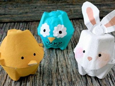 Manualidades de carton de huevo