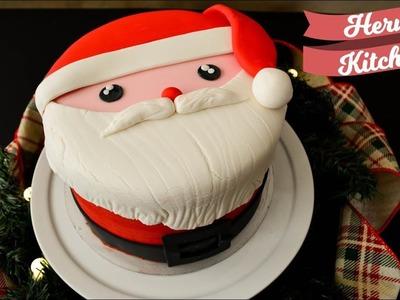 Pastel de Santa Claus | Maratón Navideño | Ale Hervi