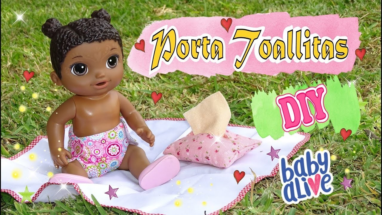 Porta toallitas para Muñecas Baby Alive DIY - Ropa de Muñecas