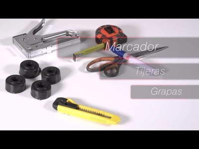 Reutilizando Neumáticos con Bridgestone DIY