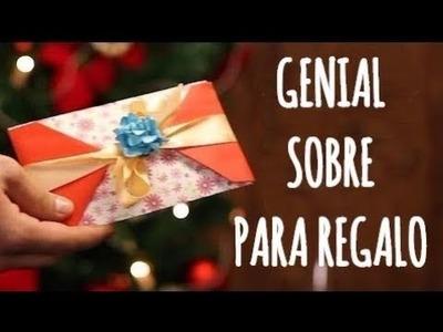 Sencillos sobres de regalo que puedes hacer en minutos