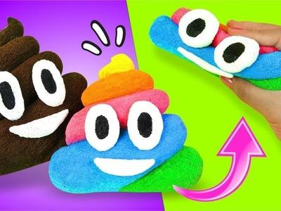 SQUISHY de Emoji Poop CASERO (Caquita Bonita) ★ Así o Más Fácil ★ DIY