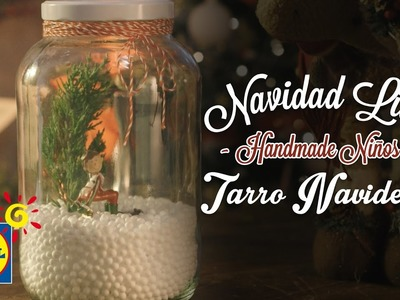 Tarro Navideño - Handmade Niños