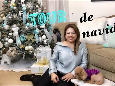 TOUR DE NAVIDAD 2017 ????⛄ CHRISTMAS HOME TOUR | ENTRADA, SALA Y COMEDOR