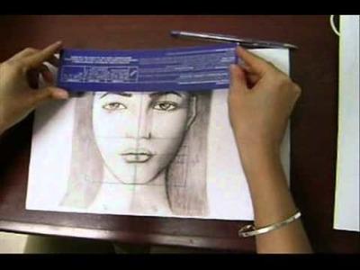 Trucos para aprender a dibujar rostros (Basados en la PROPORCIÓN ÁUREA)