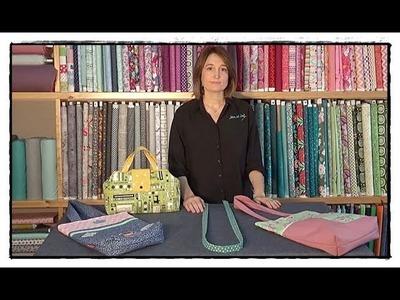 TUTORIAL,aprende cómo coser una ASA DE TELA con bundfix