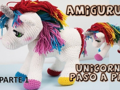 Unicornio amigurumi, paso a paso a crochet, parte 1