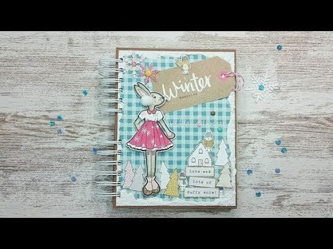 """Álbum scrapbooking de invierno """"Winter memories""""  #retodollero  (1 parte)"""