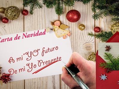 Carta de Navidad: A mi Yo futuro