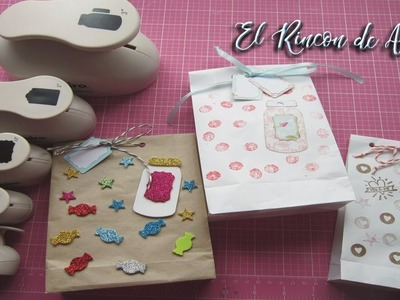 Como hacer bolsas de papel para regalo-Packaging-diy manualidades
