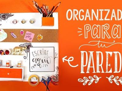 ¿Cómo hacer un ORGANIZADOR PARA PARED? DIY! ✄ Barbs Arenas Art!