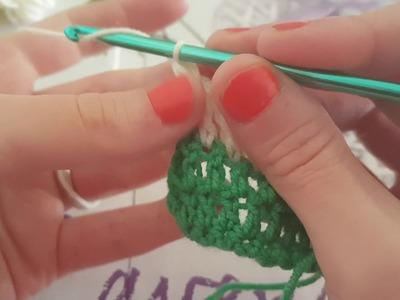 Crochet para principiantes puntos básicos 2