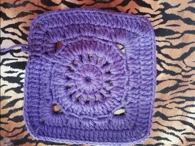 Cuadro a crochet # 1