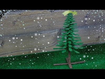 DIY árbol de navidad con palitos de helado