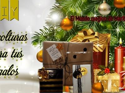 DIY ????????Envolturas de regalo????????.Ideas para envolver regalos.DIY gift wrap????????