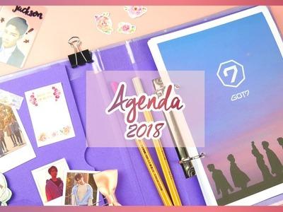 DIY K-POP : Haz tu agenda de GOT7 2018 + Te regalo un álbum de GOT7