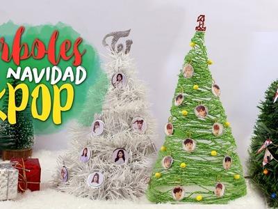 DIY KPOP: Árboles de Navidad KPOP |K-freak| WANNA ONE, TWICE, SEVENTEEN, SVT