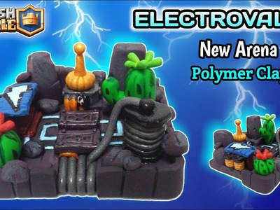 Electro Valley Arena | Clash Royale | Polymer Clay Tutorial