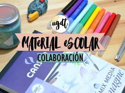 Haul materiales manualidades (CO) - UGDT