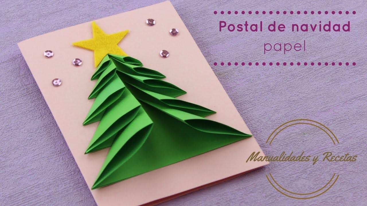 Postal de navidad facil