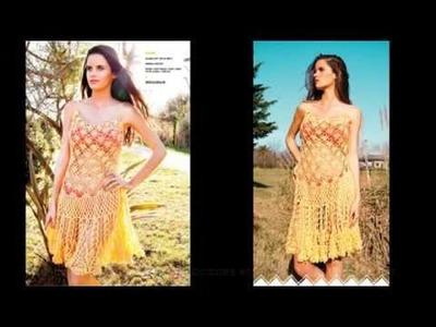 Solera al Crochet VERANO - Instrucciones - NO Paso a Paso