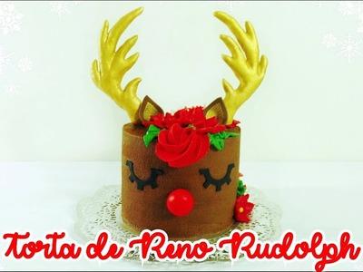 Torta de Reno Rudolph | Reindeer Cake | Navidad | Christmas