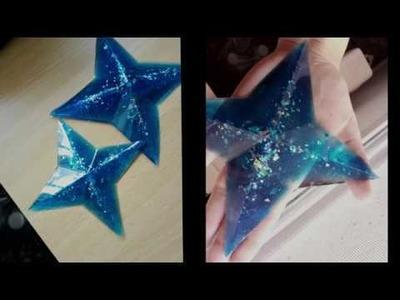 TUTORIAL- Estrellas de Star Guardian con Resina Epoxy