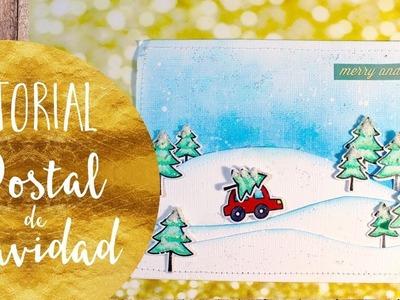 Tutorial: Postal de Navidad