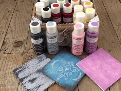 6 técnicas con pintura a la tiza - Haul chalky finish - MYBA