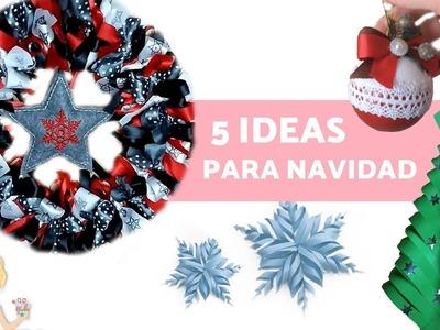 ADORNOS navideños - IDEAS para decorar en NAVIDAD
