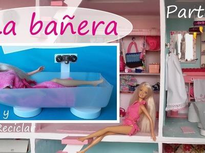 Baño para muñecas parte 5 DIY La bañera