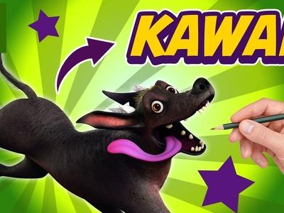 COMO DIBUJAR A DANTE DE COCO AL ESTILO KAWAII - Dibujos Kawaii Faciles