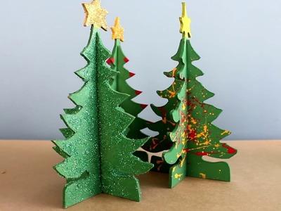 Como hacer un árbol de navidad de madera