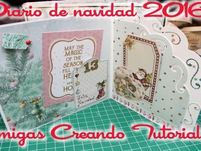 December daily || Diario de Navidad 2016 || Amigas Creando (5ta parte)