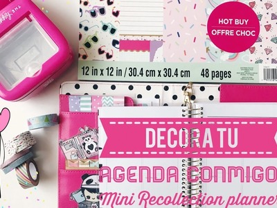 Decora tu agenda conmigo : Mini Recollection Planner