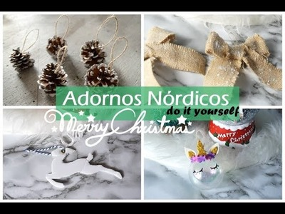 Decoración nórdica para tu árbol | do it yourself